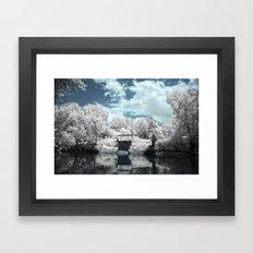 Green River | Infrared Framed Art Print