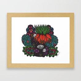 Majesty (Botanical Bliss) Framed Art Print