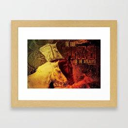 The Four Horsemen of the Apocalypse Framed Art Print