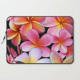 Pink Plumerias Laptop Sleeve