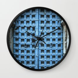 Doors Of India 1 Wall Clock