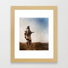 Piegan (Blackfoot) Scout Framed Art Print