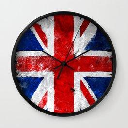 UK Vintage flag Wall Clock