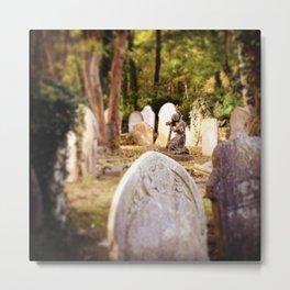 Highgate Cemetery Metal Print
