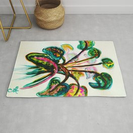A Bouquet of Leaves Rug