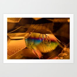 Opalescent Bubbles Art Print