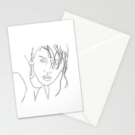 tribute von panem ... my interpretation Stationery Cards