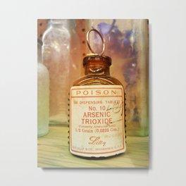 Arsenic Trioxide - Poison Medicine Metal Print