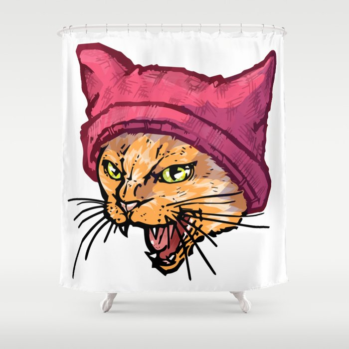 The Cat In Hat Tiger Shower Curtain