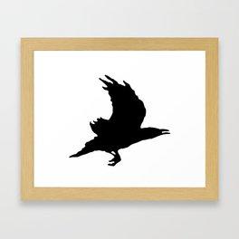 Jonathan Strange and Mr. Norrel Raven King Symbol Framed Art Print
