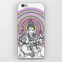 Ganesha Mandala iPhone Skin
