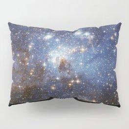 NASA Hubble Space Telescope Poster - LH 95, a Stellar Nursery in the Large Magellanic Cloud Pillow Sham