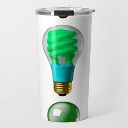 Lightbulbs Of A Differnt Color Travel Mug