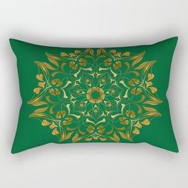 flower abstrack Rectangular Pillow