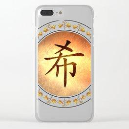 Hope Mandala Clear iPhone Case