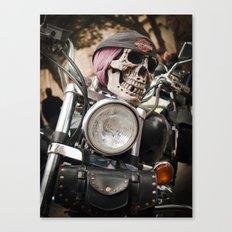 Happy rider  Canvas Print