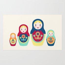 Matryoshka Dolls Rug