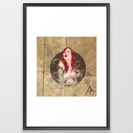 Damm_e Framed Art Print