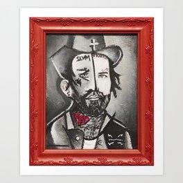 Redneck Art Print