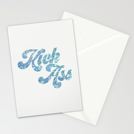 Kick Ass (Glitter) Stationery Cards