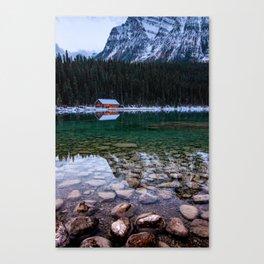 Lake Louise Reflections Canvas Print