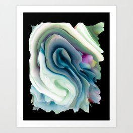 Your World 4 - Abstract 3D Milk Painting Art Print
