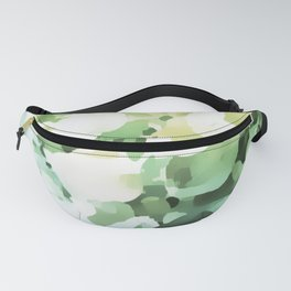 Floral light illusion Fanny Pack