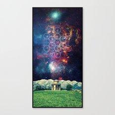 Croome Panoramic Tower Canvas Print