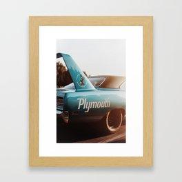 Plymouth RoadRunner Framed Art Print