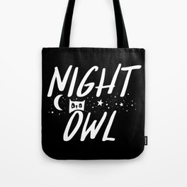 Night Owl (Inverted) Tote Bag