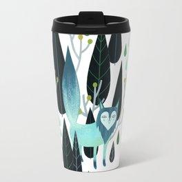 Foxy Forest Travel Mug
