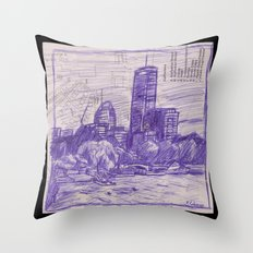 Charles River Esplanade 1 Throw Pillow