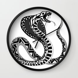 Doña Cobra Wall Clock