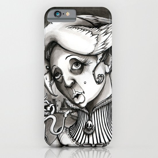 Lady Heartwood iPhone & iPod Case