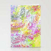 confetti Stationery Cards featuring Confetti by Abstract Designs