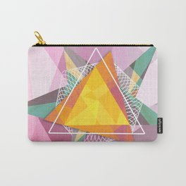 Tangled triangles Carry-All Pouch