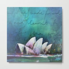 Opera House of Peace, Love & Migration Metal Print