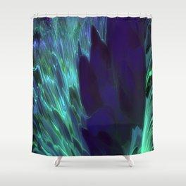 Green River Sheen Shower Curtain