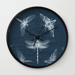 X-RAY Insect Magic Wall Clock