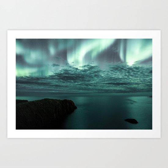 Aurora Borealis II Art Print