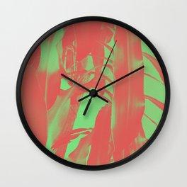 Exotic Duotone Wall Clock