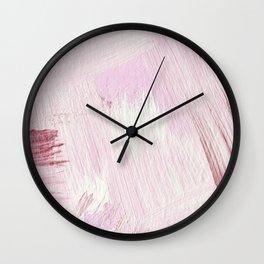Blush Pink Wall Clock