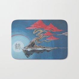 """Crane Glyde""- Bonsai Collection Bath Mat"