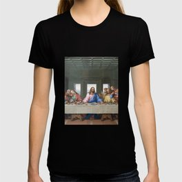 The Last Supper by Leonardo da Vinci T-shirt