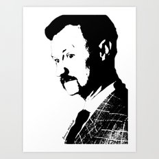 Mark Gatiss Art Print
