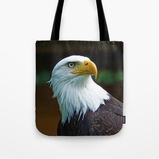 American Bald Eagle Head Tote Bag