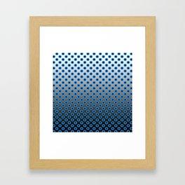 GRADIANT CIRCLES  Framed Art Print