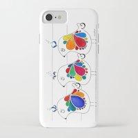 folk iPhone & iPod Cases featuring folk by Gosia&Helena