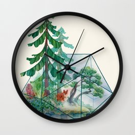 Mainerrarium Wall Clock