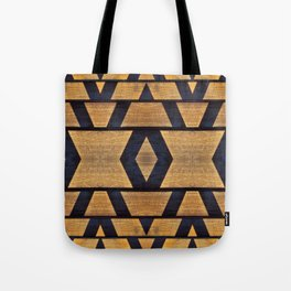 shadow and wood Tote Bag
